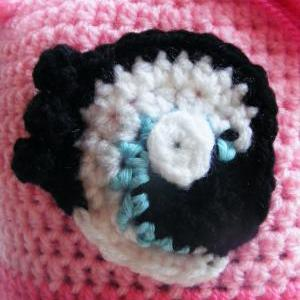 Pattern only - Pinky Pie pony Hat -..