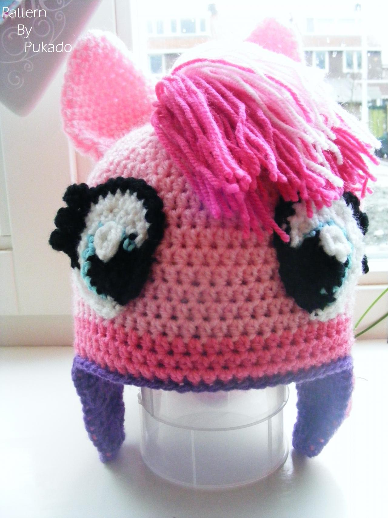 Pattern Only - Pinky Pie Pony Hat - DIY on Luulla