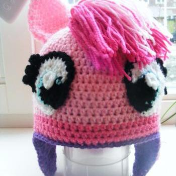 Pattern only - Pinky Pie pony Hat - DIY