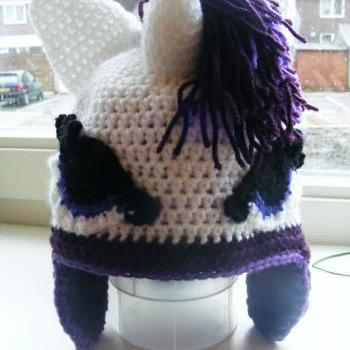 Pattern only - pony Rarity Hat - DIY